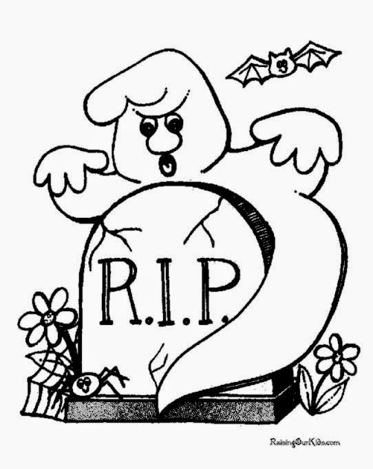 Halloween printable coloring pages   003