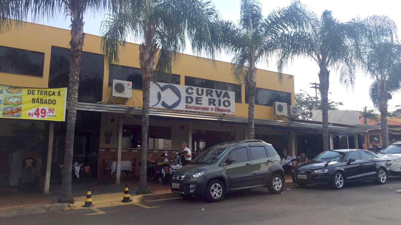 7bba166386b FUTRICANDO PELO MUNDO  RIBEIRAO PRETO - RESTAURANTE CURVA DE RIO