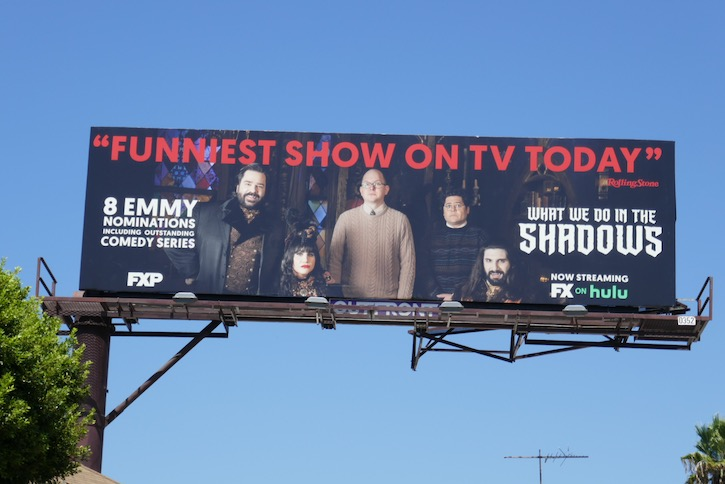 What We Do in Shadows season 2 Emmy billboard