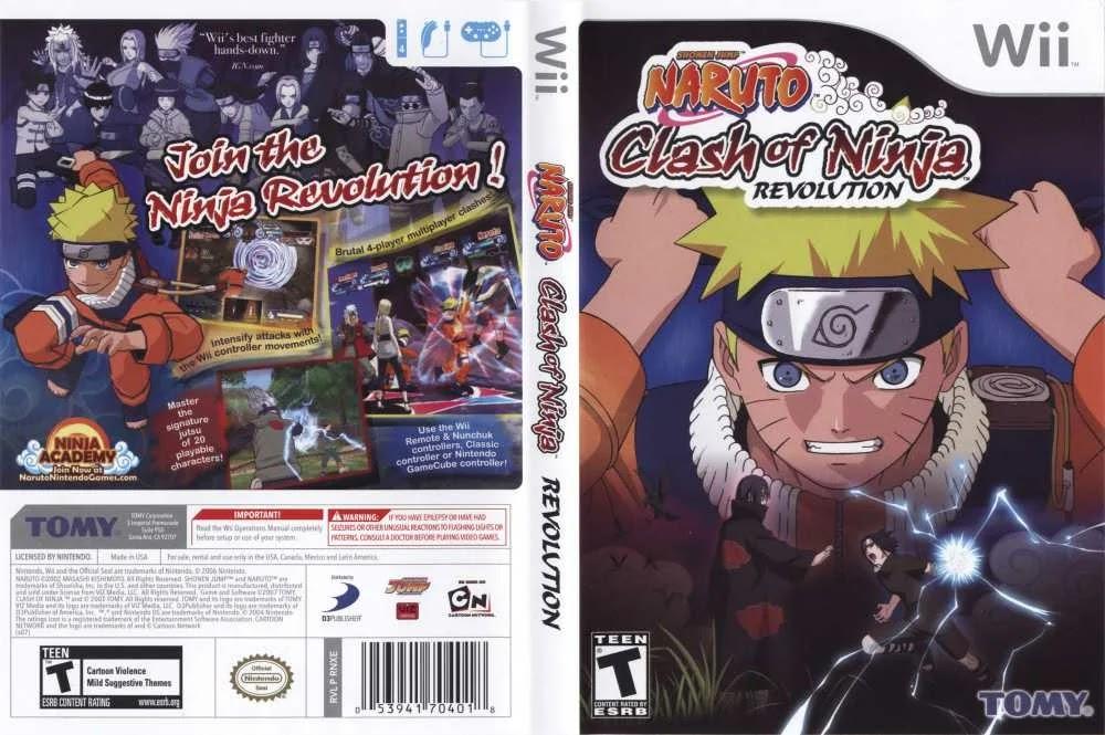 naruto clash of ninja revolution 4 wii iso download