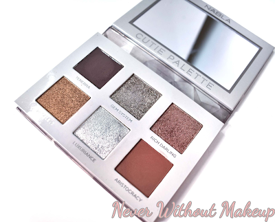 cutie palette platinum nabla cosmetics