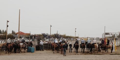 Rodeo Vulcan Alberta