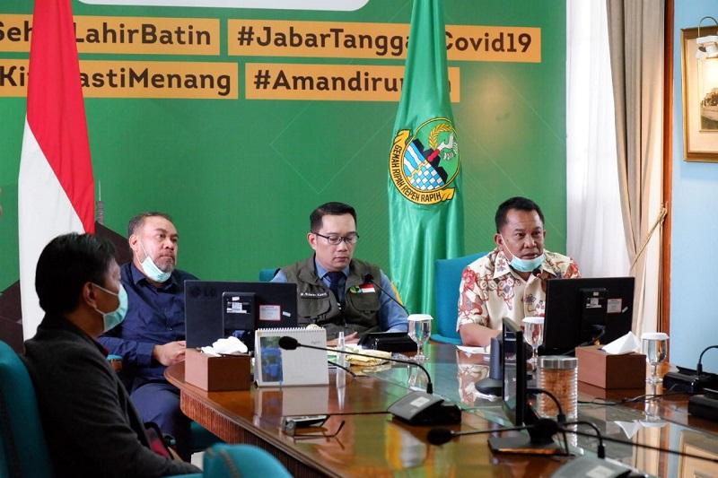 COVID-19 Terus Merebak, Ketua DPRD dan Gubernur Jabar Hadiri Peresmian RS Pantega