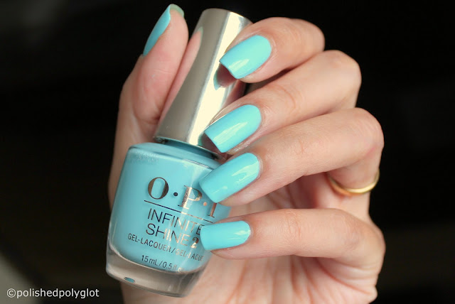 OPI Breakfast at Tiffany's Holiday I believe in Manicures