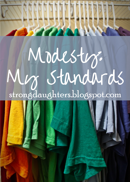 Modesty: My Standards