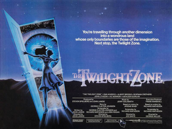 The Twilight zone póster