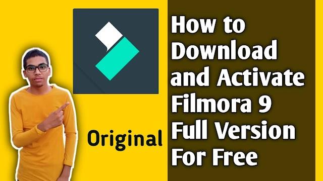 Filmora 9 Apk-How to Download/Activate/Crack Filmora 9 Video Editing Software 2021