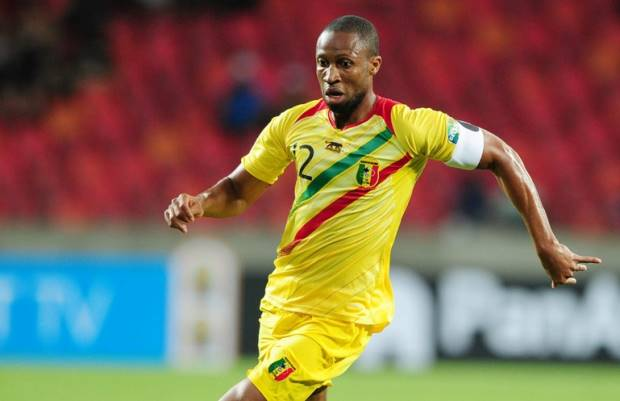 Mali captain Seydou Keita