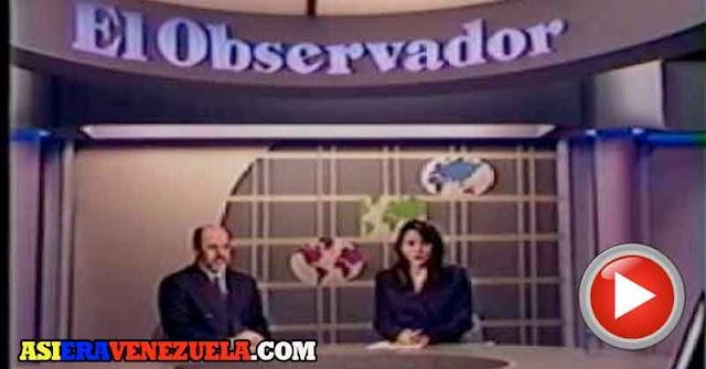 Así eran los Noticieros de Televisión del Pasado en Venezuela