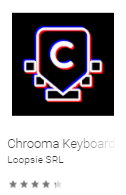 Chrooma Keyboard
