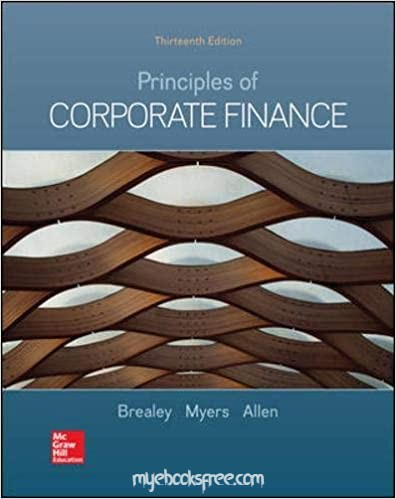 Principles of Corporate Finance 13e Pdf Book by Brealey, Myers, Allen