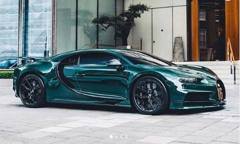 Bugatti chiron Green Model