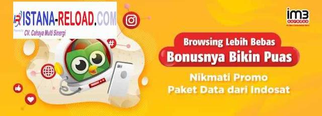 Daftar Harga Paket Data Indosat Termurah Istana Reload