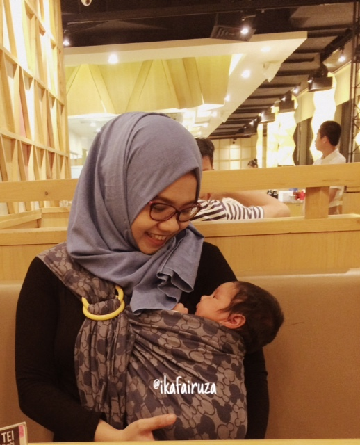 Bitter Sweet Baby Carrier Review Mamaway Ringsling