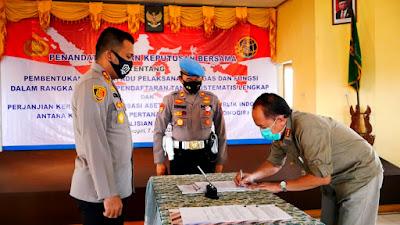 BPN Gandeng Polres Wonogiri untuk Pengamanan PTSL