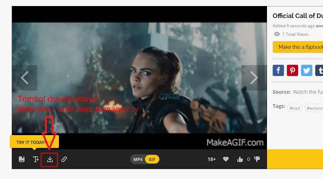 Cara Download GIF