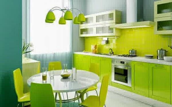 Gambar dapur minimalis moderan yang menyatu dengan ruang makan