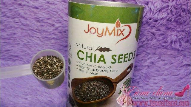 Amalkan satu sudu Chia Seeds sehari