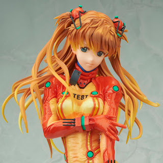 "Figuras: Imágenes y detalles de Asuka Langley Shikinami Test Plug Suit Ver. de ""Evangelion: 2.0 You Can (Not) Advance"" - Bellfine"
