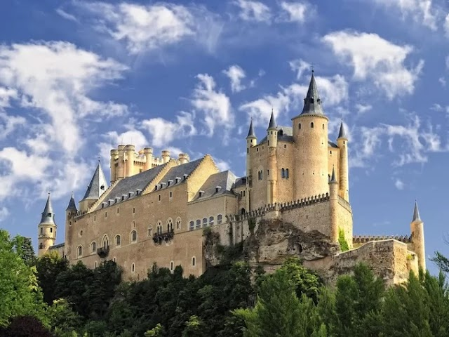 Cinderella's castle in real life in Spain