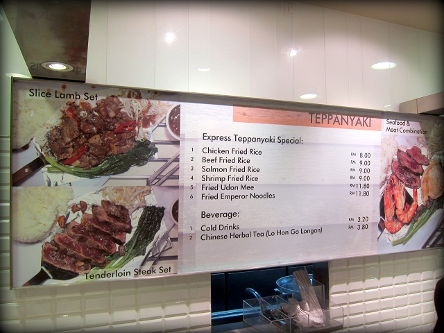 Express Teppanyaki Food Republic 1Utama