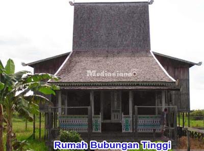 Rumah Adat Kalimantan Selatan : Rumah Bubungan Tinggi