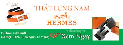 Thắt lưng nam Hermes