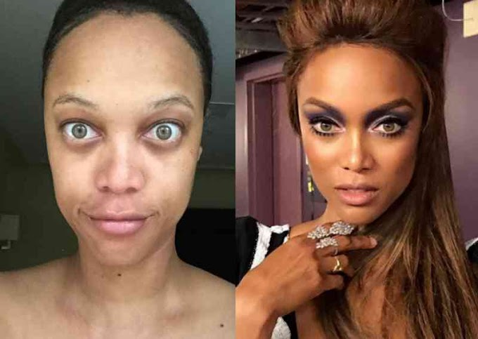 24 With And Without Makeup Pictures Of Famous Women