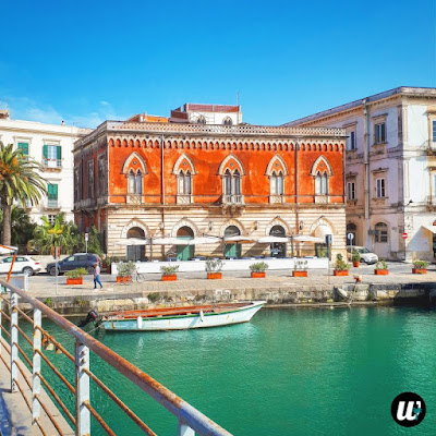 View from the bridge on Ortigia, Siracusa | Sicily, Italy | wayamaya