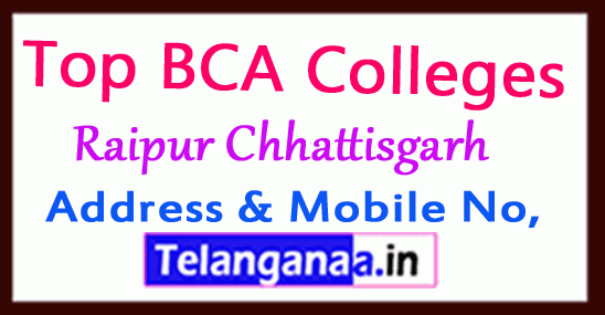 Top BCA Colleges in Raipur Chhattisgarh
