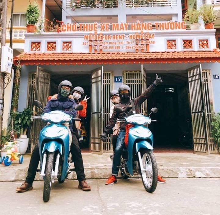 Cơ sở cho thuê xe máy Hằng Thường