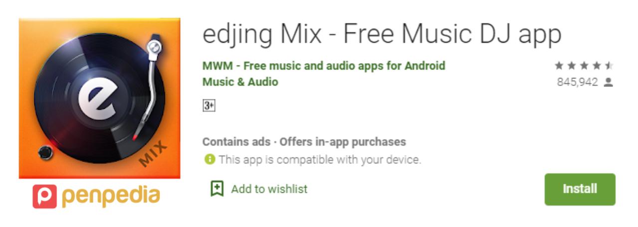 aplikasi dj gratis terbaik