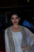 Samantha Ruth Prabhu cute in Lace Border Anarkali Dress with Koti at 64th Jio Filmfare Awards South ~  Exclusive 033.JPG