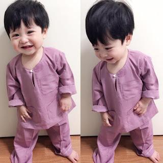 budak korea berbaju melayu