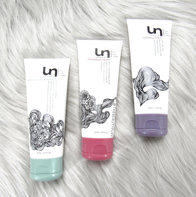 unwash try me kit - the beauty puff