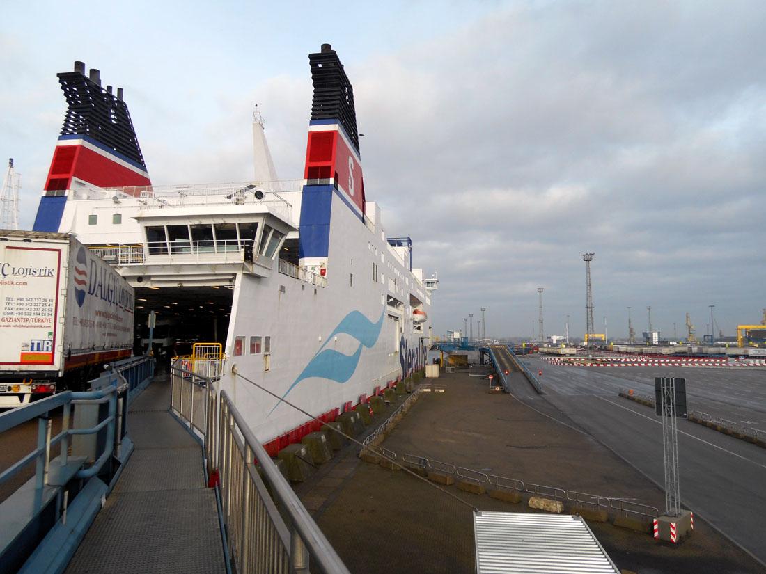 Imbarco sulla nave