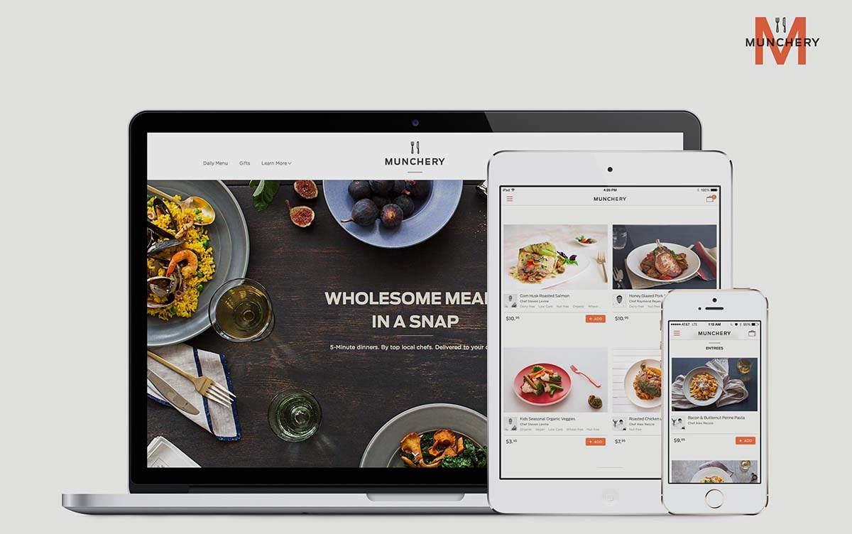 Best Food Delivery Service Apps munchery