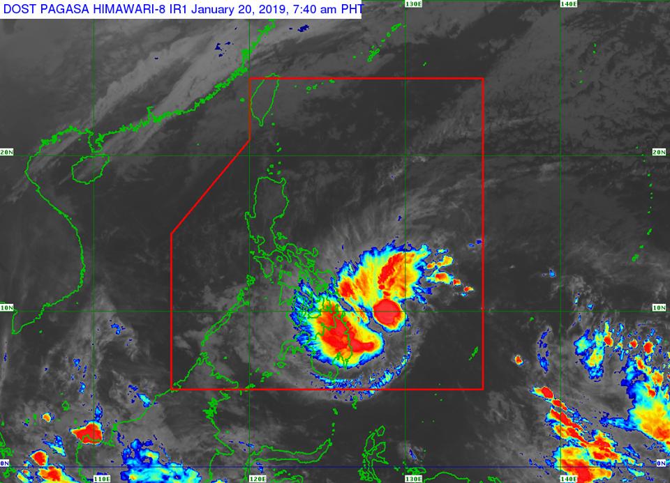 'Bagyong Amang' PAGASA weather update January 20, 2019