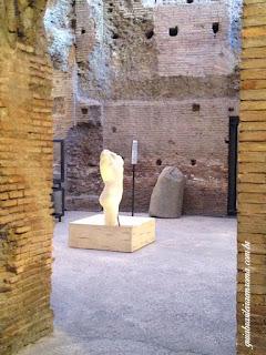 Mostra Estadio Domiciano, Torso - guia brasileira em Roma