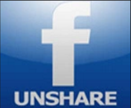 How to Unshare on Facebook