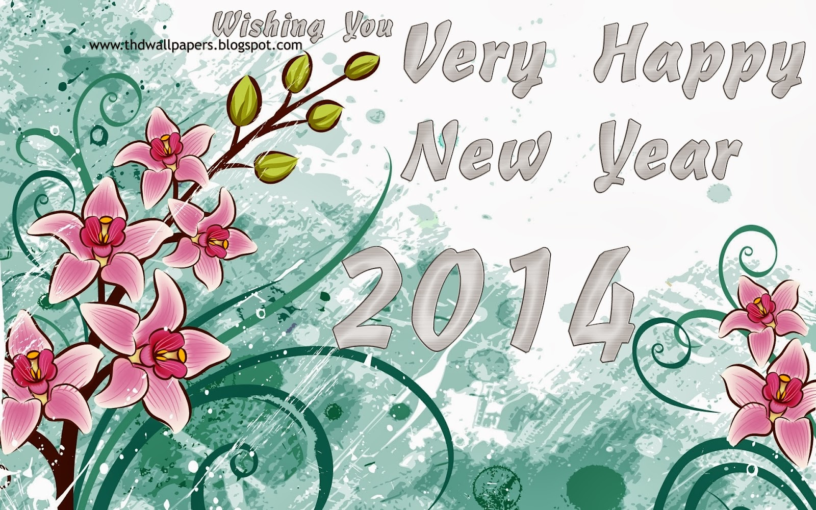 2014 Happy New Year Wishes Greetings.6 Greeting For New Year In Hindi 2014