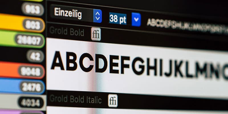 10 Helpful Tips for Choosing and Using Fonts