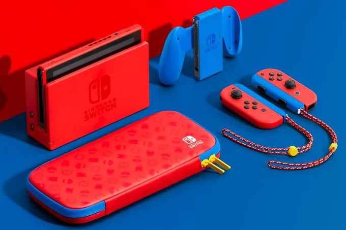 Sorteio de um Nintendo Switch Mario Red & Blue Edition
