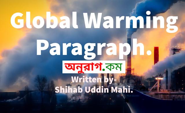 Global Warming Paragraph.