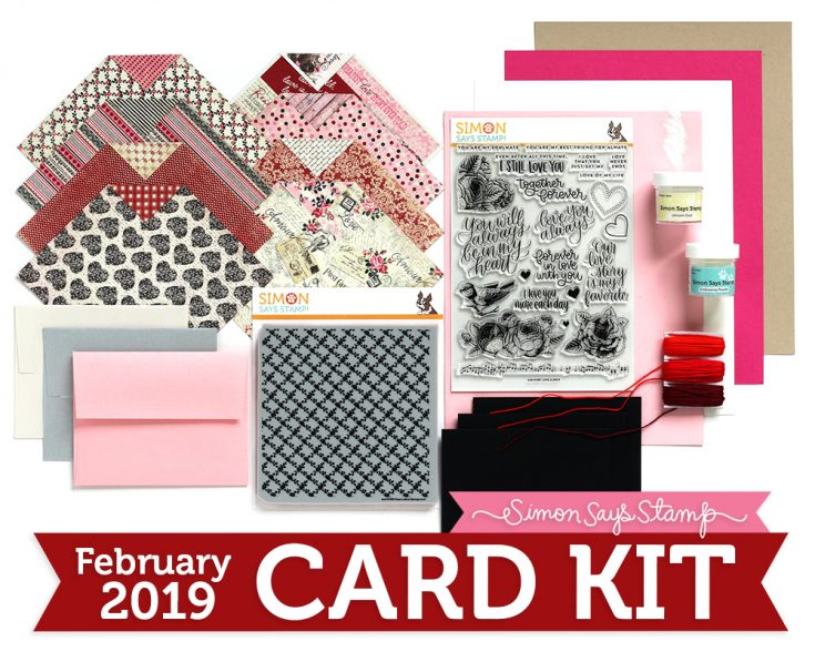 Simon's February Card Kit