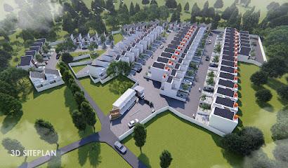 3D Site Plan Casa Andara Residence