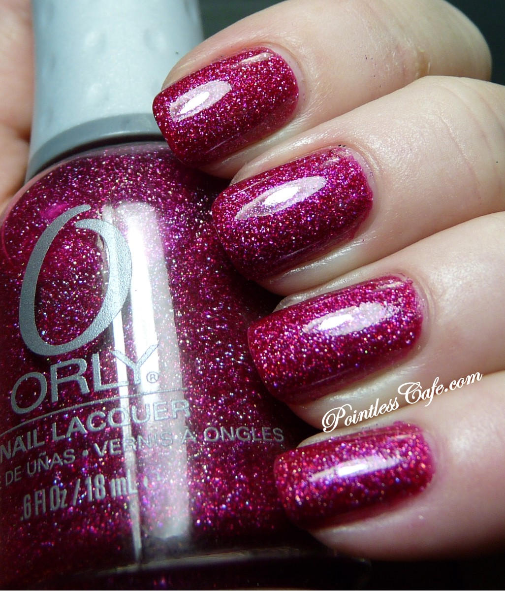 Orly Miss Conduct - Swatches and Review | Pointless Cafe
