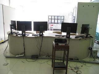 Desain Interior Meja Front Desk Ruang Lobby + Furniture Semarang
