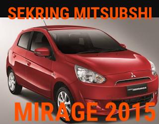 fusebox MITSUBISHI MIRAGE 2015