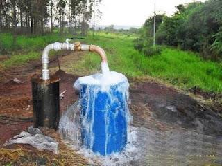 Cobrar por água de poços artesianos